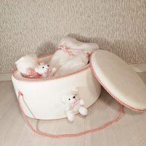 Trusou Elegant Roz Ursuleț