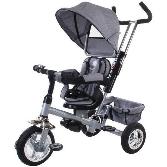 Tricicleta Confort Plus – Sun Baby – Melange Gri
