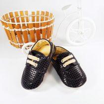 Pantofiori Lucioși cu Pătrățele