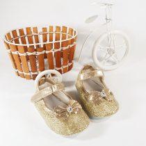 Pantofiori Eleganți Aurii